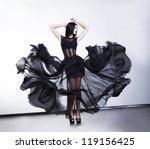 Fantastic Fashion Woman In...