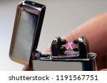close up of plasma arc lighter. ...   Shutterstock . vector #1191567751