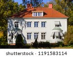 White Residential House With...
