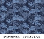 hawaii board shorts pattern | Shutterstock .eps vector #1191591721