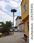 eskikaraagac village  bursa ... | Shutterstock . vector #1191595351