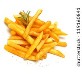 french fries  isolated | Shutterstock . vector #119160841