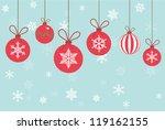 Vintage Vector Christmas Card....