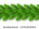 seamless realistic christmas... | Shutterstock .eps vector #1191622441