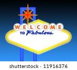 illustration of the neon... | Shutterstock . vector #11916376