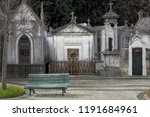 Old European Cemetery With...
