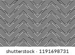seamless pattern with striped... | Shutterstock .eps vector #1191698731