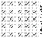 plaid seamless pattern.... | Shutterstock .eps vector #1191702841