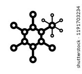 compound of molecular structures | Shutterstock .eps vector #1191703234