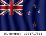 flag of new zealand. new... | Shutterstock .eps vector #1191717811