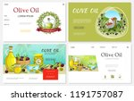 cartoon fresh olive websites... | Shutterstock .eps vector #1191757087