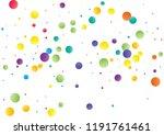 festive color round confetti... | Shutterstock .eps vector #1191761461