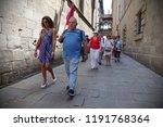 barcelona  spain   july 20 ... | Shutterstock . vector #1191768364