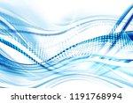 design trendy element. blue... | Shutterstock . vector #1191768994