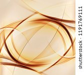 abstract gold lines background. ... | Shutterstock . vector #1191769111