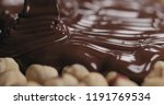 closeup covering roasted... | Shutterstock . vector #1191769534