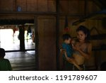 indians of the mentawai tribe ... | Shutterstock . vector #1191789607