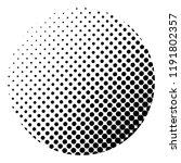 linear halftone pattern.... | Shutterstock .eps vector #1191802357