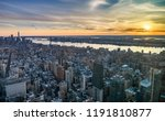 new york city  united states ... | Shutterstock . vector #1191810877