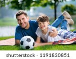 portrait of smiling young... | Shutterstock . vector #1191830851