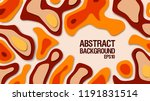 abstract paper cut background.... | Shutterstock .eps vector #1191831514