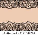 horizontally seamless beige... | Shutterstock .eps vector #1191832744