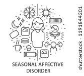 linear banners for seasonal... | Shutterstock .eps vector #1191844201