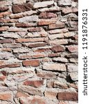 abstract background. old brick ... | Shutterstock . vector #1191876331