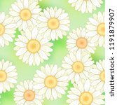 floral seamless pattern with... | Shutterstock .eps vector #1191879907