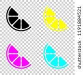 half lemon or orange. simple...