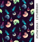 vector seamless pattern with... | Shutterstock .eps vector #1191888664