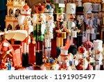 nutcrackers at christmas market ... | Shutterstock . vector #1191905497
