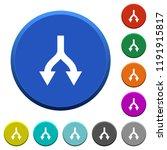 split arrows down round color...   Shutterstock .eps vector #1191915817