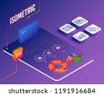 isometric vector. set of...   Shutterstock .eps vector #1191916684