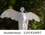 marble statue of a winged angel ... | Shutterstock . vector #1191924097