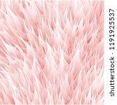 pink synthetic fur vector...   Shutterstock .eps vector #1191925537