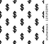 dollar signs isolated on white. ...   Shutterstock .eps vector #1191933991