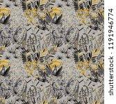 creative artistic floral...   Shutterstock . vector #1191946774