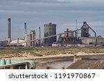 redcar  cleveland   england  ... | Shutterstock . vector #1191970867