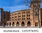 madrid  spain   january 24 ... | Shutterstock . vector #1191976591