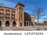 madrid  spain   january 24 ... | Shutterstock . vector #1191976594