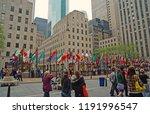 new york  usa   november 13 ...   Shutterstock . vector #1191996547