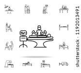 resuscitation icon. medicine... | Shutterstock . vector #1192013491