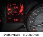 modern digital power gauge... | Shutterstock . vector #1192023931