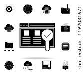 usability testing icon. web...