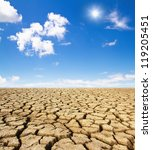 drought land | Shutterstock . vector #119205451