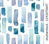 seamless pattern of watercolor... | Shutterstock . vector #1192070647