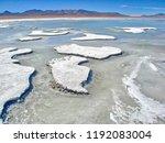 bolivia  salar de uyuni  aguas...   Shutterstock . vector #1192083004