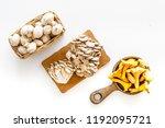 cook mushrooms concept.... | Shutterstock . vector #1192095721
