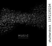 music background with music...   Shutterstock .eps vector #1192135234